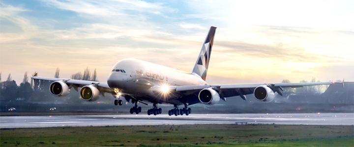 a380 Etihad Airways