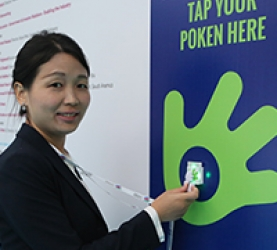 Participant using Spark and Touchpoint